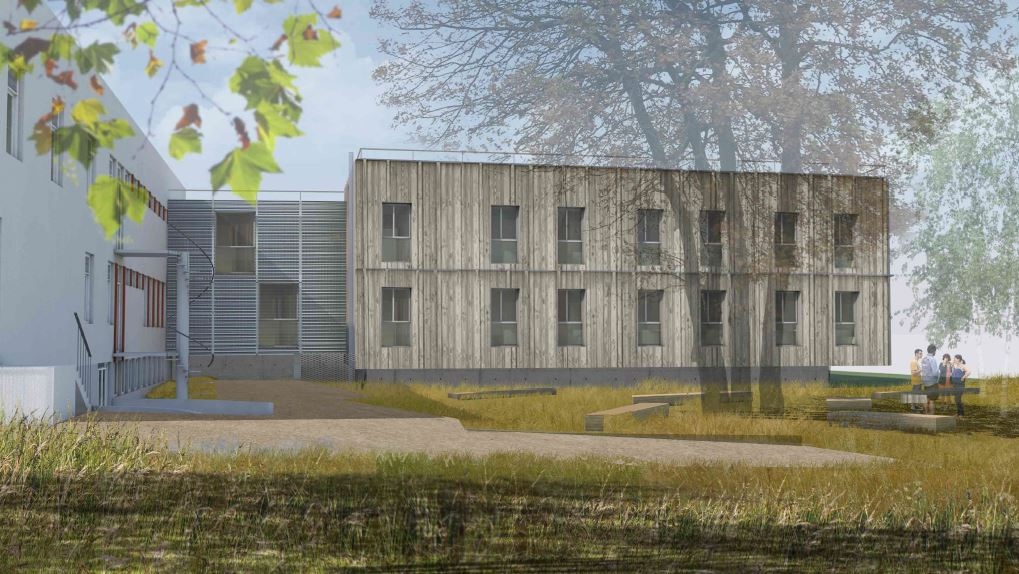 2020 10 projet extension - facade